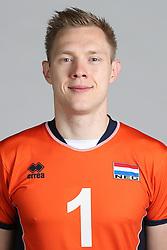 20160516 NED: Selectie Nederlands volleybal team mannen, Arnhem<br />Daan van Haarlem