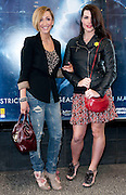 12.APRIL.2011. MANCHESTER<br /> <br /> LUCY-JO HUDSON AND ALISON KING ARRIVING ON THE BLUE CARPET FOR GHOST THE MUSICAL AT THE OPERA HOUSE IN MANCHESTER.<br /> <br /> BYLINE: EDBIMAGEARCHIVE.COM<br /> <br /> *THIS IMAGE IS STRICTLY FOR UK NEWSPAPERS AND MAGAZINES ONLY*<br /> *FOR WORLD WIDE SALES AND WEB USE PLEASE CONTACT EDBIMAGEARCHIVE - 0208 954 5968*