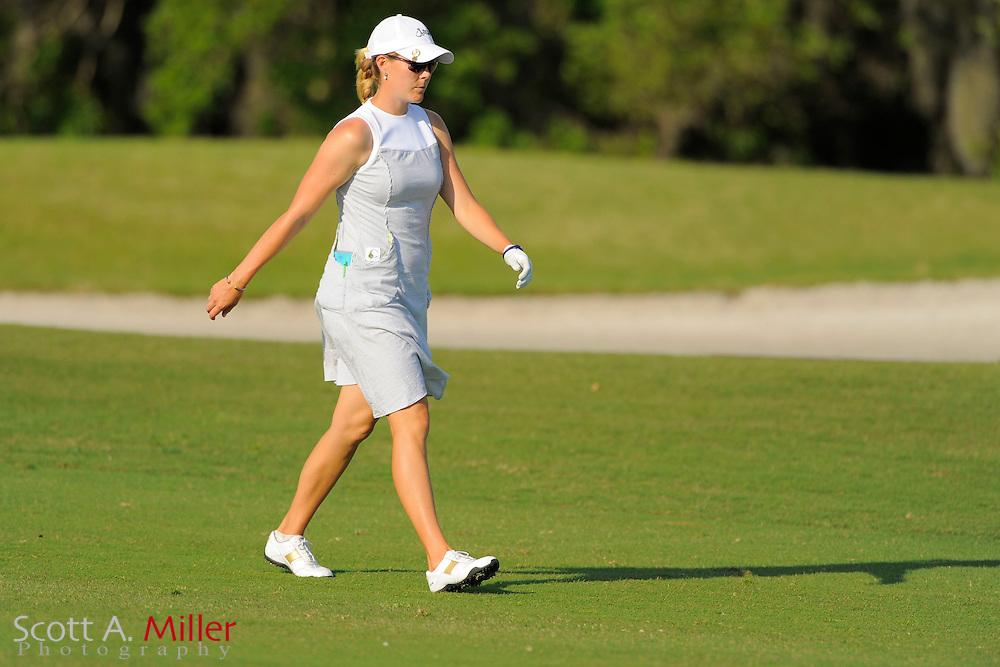 Caroline Westrup during the second round of the LPGA Futures Tour's Daytona Beach Invitational at LPGA International's Championship Course on April 2, 2011 in Daytona Beach, Florida... ©2011 Scott A. Miller