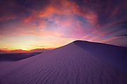 Image of the dunes at White Sands National Monument, New Mexico, American Southwest