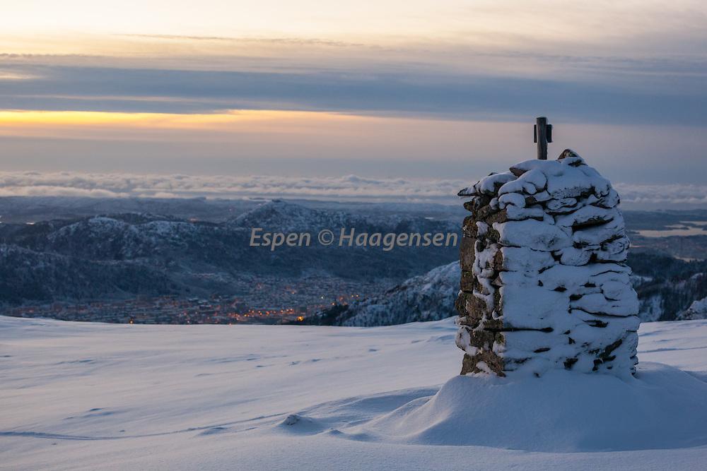 Bergen from Vidden