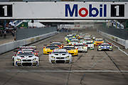 March 17-19, 2016: Mobile 1 12 hours of Sebring 2016. Start of the 12 Hours of Sebring GT class