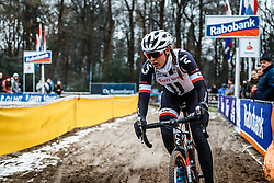 Lucinda Brand, NK Veldrijden / Dutch Championship Cyclocross at Sint Michielsgestel, Noord-Brabant, The Netherlands, 8 January 2017. Photo by Pim Nijland / PelotonPhotos.com | All photos usage must carry mandatory copyright credit (Peloton Photos | Pim Nijland)