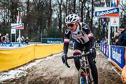 Lucinda Brand, NK Veldrijden / Dutch Championship Cyclocross at Sint Michielsgestel, Noord-Brabant, The Netherlands, 8 January 2017. Photo by Pim Nijland / PelotonPhotos.com | All photos usage must carry mandatory copyright credit (Peloton Photos | Pim Nijland)