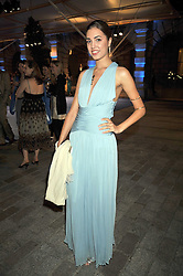 AMBER LE BON at the Royal Academy of Arts Summer Party held at Burlington House, Piccadilly, London on 3rd June 2009.