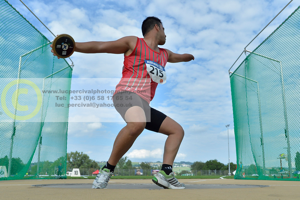 04/08/2017; Fathiganji, Mohammad, F46, IRI at 2017 World Para Athletics Junior Championships, Nottwil, Switzerland