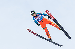 30.01.2016, Normal Hill Indiviual, Oberstdorf, GER, FIS Weltcup Ski Sprung Ladis, Bewerb, im Bild Spela Rogeli (SLO) // Spela Rogeli of Slovenia during her Competition Jump of FIS Ski Jumping World Cup Ladis at the Normal Hill Indiviual, Oberstdorf, Germany on 2016/01/30. EXPA Pictures © 2016, PhotoCredit: EXPA/ Peter Rinderer
