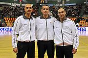 DESCRIZIONE : Udine Lega A2 2010-11 Snaidero Udine Mazzeo San Severo<br /> GIOCATORE : Eduardo Ciano, Gaetano Perretti, Nicola Beneduce<br /> SQUADRA :  Arbitri<br /> EVENTO : Campionato Lega A2 2010-2011<br /> GARA : Snaidero Udine Mazzeo San Severo<br /> DATA : 31/10/2010<br /> CATEGORIA : Arbitri<br /> SPORT : Pallacanestro <br /> AUTORE : Agenzia Ciamillo-Castoria/S.Ferraro<br /> Galleria : Lega Basket A2 2009-2010 <br /> Fotonotizia : Udine Lega A2 2010-11 Snaidero Udine Mazzeo San Severo<br /> Predefinita :