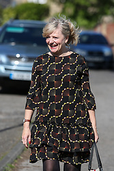 © Licensed to London News Pictures. 03/05/2017. Batley, UK. Labour MP for Batley Tracy Brabin at an event in Batley, West Yorkshire, to launch Labour's policy on healthcare and the NHS during the 2017 general election campaign. He promised that Labour would immediately stop proposed A&E and hospital closures across England. Photo credit : Ian Hinchliffe/LNP