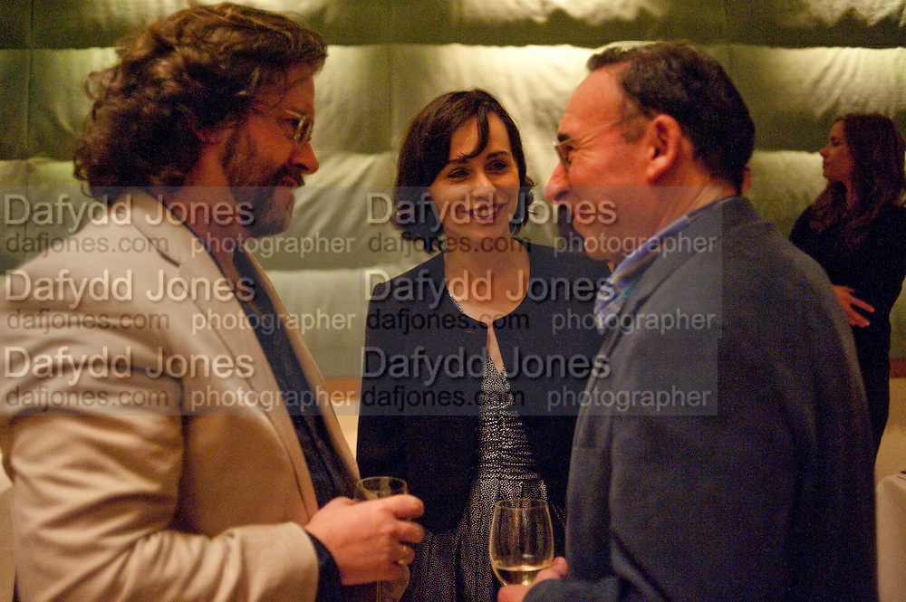 GREG DORAN; ANTONY SHER; TARA FITZGERALD, The opening night of Broken Glass at the Vaudeville Theatre. Followed by  the after show party is at One Aldwych. London. 16 September 2011. <br />  , -DO NOT ARCHIVE-© Copyright Photograph by Dafydd Jones. 248 Clapham Rd. London SW9 0PZ. Tel 0207 820 0771. www.dafjones.com.