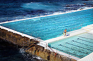 Copyright JIm Rice © 2013<br /> Ice bergs swimming pool.<br /> Bondi Sydney<br /> Australia
