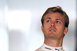 Mercedes' Nico Rosberg during practice at Yas Marina Circuit, Abu Dhabi. PRESS ASSOCIATION Photo. Picture date: Friday November 25, 2016. See PA story AUTO Abu Dhabi. Photo credit should read: David Davies/PA Wire. RESTRICTIONS: Editorial use only. Commercial use with prior consent from teams.