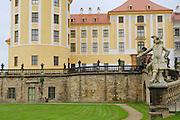 MORITZBURG, GERMANY - MAY 21, 2010: Moritzburg castle exterior in Moritzburg, Germany.