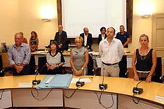 20130725 CONSEGNA TARGA RICORDO AI FAMILIARI DI PAOLA RICCI IN CONSIGLIO PROVINCIALE