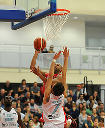 - Photo mandatory by-line: Paul Knight/JMP - Mobile: 07966 386802 - 19/09/2015 - BASKETBALL - SGS Wise Arena - Bristol, England - Bristol Flyers v Surrey Scorchers - British Basketball League