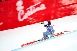19.01.2018, Olympia delle Tofane, Cortina d Ampezzo, ITA, FIS Weltcup Ski Alpin, Abfahrt, Damen, im Bild Tiffany Gauthier (FRA) // Tiffany Gauthier of France in action during the ladie' s downhill of the Cortina FIS Ski Alpine World Cup at the Olympia delle Tofane course in Cortina d Ampezzo, Italy on 2018/01/19. EXPA Pictures © 2018, PhotoCredit: EXPA/ Dominik Angerer