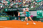 Alison Riske (usa) during the Roland Garros French Tennis Open 2018, day 4, on May 30, 2018, at the Roland Garros Stadium in Paris, France - Photo Pierre Charlier / ProSportsImages / DPPI
