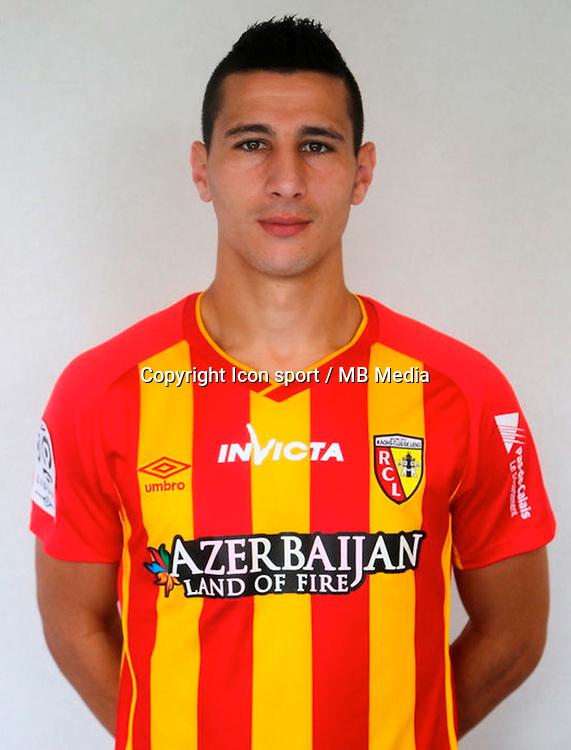 Yoaan TOUZGHAR - 29.10.2014 - Portrait Lens - Ligue 1 -<br /> Photo : Icon Sport