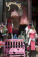 New York est village  , little fashion shop street life  United States