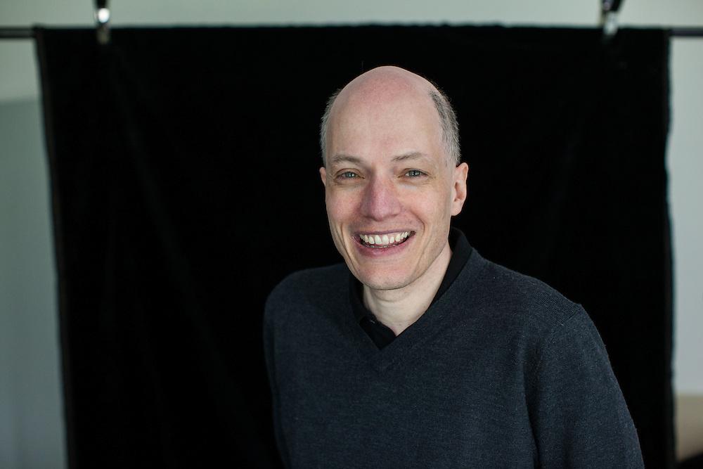 alain de botton writer and philosopher photographed for Blik