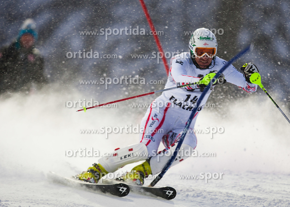 21.12.2011, Hermann Maier Weltcup Strecke, Flachau, AUT, FIS Weltcup Ski Alpin, Herren, Slalom 1. Durchgang, im Bild Manfred Pranger (AUT) in Aktion // Manfred Pranger of Austria in action during Slalom race 1st run of FIS Ski Alpine World Cup at 'Hermann Maier World Cup' course in Flachau, Austria on 2011/12/21. EXPA Pictures © 2011, PhotoCredit: EXPA/ Johann Groder