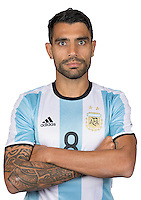 Football Conmebol_Concacaf - <br />Copa America Centenario Usa 2016 - <br />Argentina National Team - Group D -<br />Augusto Fernandez