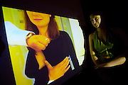 "SOHO in Ottakring. Ateliergemeinschaft Brunnengasse 17. Opening of Exhibition ""Alles wird scho?n"", sie auch! Video by Katharina Moerth and Gisela Reimer. Katharina Moerth inquiring about breast implants (partly with hidden camera)..Now in its 9th year, SOHO in Ottakring is an established art festival in public spaces of Vienna's 16th city district. In cooperation with the local cfommunity, up to 200 artists take part in the annual festival at the end of May/beginning of June. The festival is a huge success and has helped develop the formerly neglected and decaying district into a sprawling, 'hip' urban area. More info in German at: www.sohoinottakring.at"