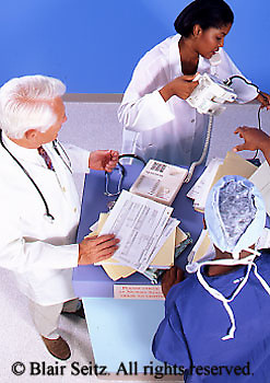 Doctor, Physicians at Work, Doctors Consult in Hospital