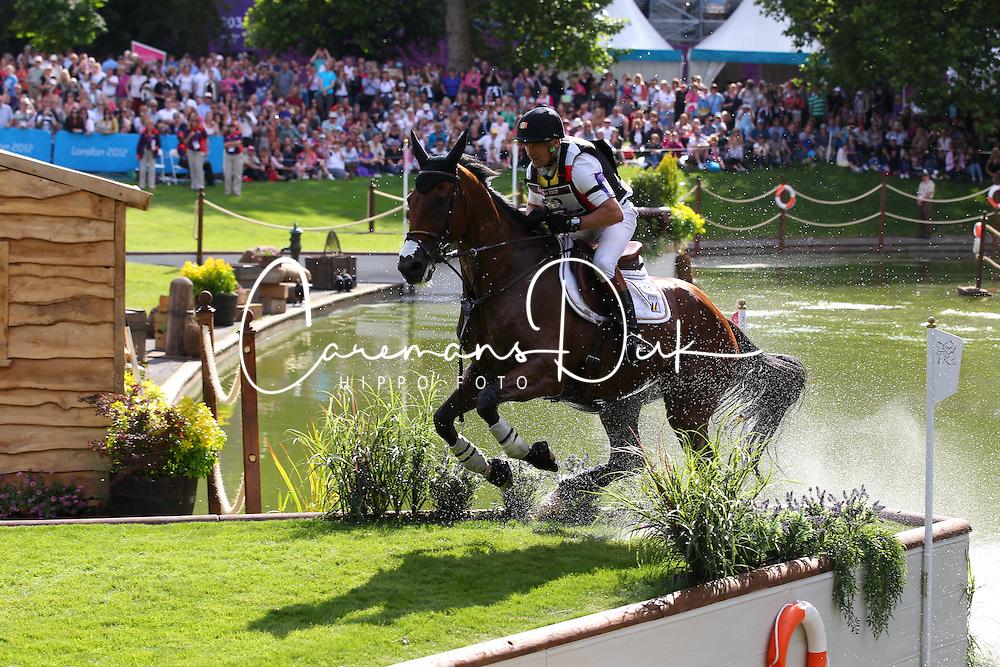 Van Springel Joris (BEL) - Lully des AUlnes<br /> Olympic Games London 2012<br /> &copy; Hippo Foto - Bob Langrisch