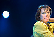 Nederland, Nijmegen, 21-5-2018 Live optreden van zangeres, artiest Wende tijdens de laatste dag van de Music Meeting. Foto: Flip Franssen