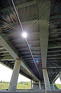 M1 motorway leeds england