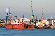 Dock, Hamburger Hafen, Hamburg, Deutschland.|.Hamburg Harbour, dock, Hamburg, Germany.