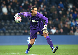 January 5, 2019 - Derby, England, United Kingdom - Derby, England - 05 January, 2019.Derby County's Kelle Roos.during FA Cup 3rd Round between Derby County  and Southampton at Pride Park stadium , Derby, England on 05 Jan 2019. (Credit Image: © Action Foto Sport/NurPhoto via ZUMA Press)