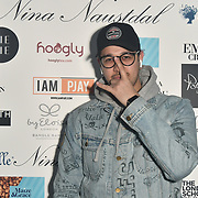 Iam Pjay Dj at Nina Naustdal catwalk show SS19/20 collection by The London School of Beauty & Make-up at Bagatelle on 26 Feb 2019, London, UK.