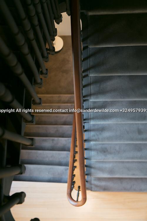 Brussels Belgium 2017 Oktober30 House for sale interior pictures architecture rue de Champs Elyzees 60 Ixelles Elsene Brussels Maison de Maitre