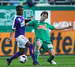 23.10.2016, Allianz Stadion, Wien, AUT, 1. FBL, SK Rapid Wien vs FK Austria Wien, 12 Runde, im Bild Felipe Pires (FK Austria Wien) und Ivan Mocinic (SK Rapid Wien) // during Austrian Football Bundesliga Match, 12th Round, between SK Rapid Vienna and FK Austria Wien at the Allianz Stadion, Vienna, Austria on 2016/10/23. EXPA Pictures © 2016, PhotoCredit: EXPA/ Thomas Haumer