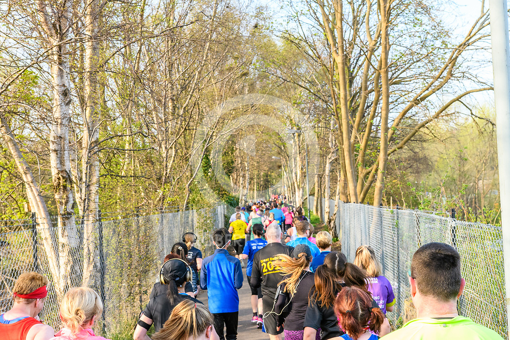 Images from the 2017 Kilomathon, 9 April 2017 in Edinburgh. Photo: Paul J Roberts   RobertsSports Photo. All Rights Reserved