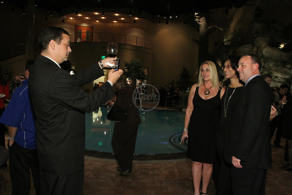 2011 Taste of Tulalip Celebration Dinner reception at the Oasis Pool.