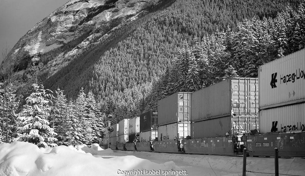 Canadian Pacific Railway, Yoho Nat'l Park.