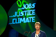 Judy Moorhouse, NUT, speaking at the TUC Conference 2009...© Martin Jenkinson, tel 0114 258 6808 mobile 07831 189363 email martin@pressphotos.co.uk. Copyright Designs & Patents Act 1988, moral rights asserted credit required. No part of this photo to be stored, reproduced, manipulated or transmitted to third parties by any means without prior written permission