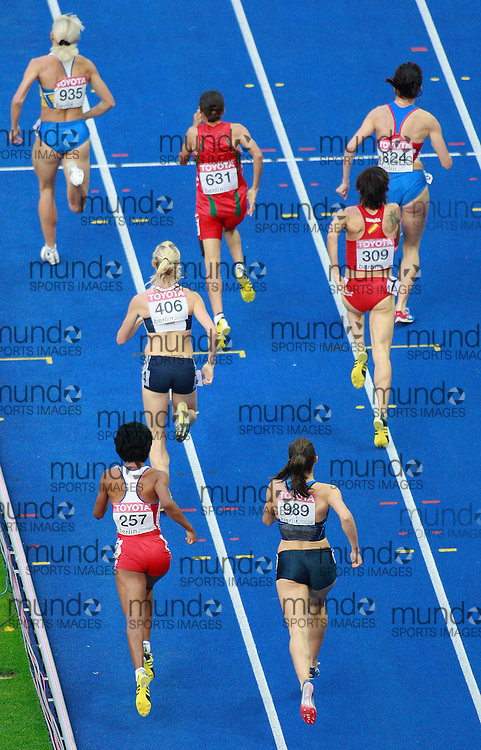 Berlin 2009 World Championships -August 17th - Day 3 -Evening *** Local Caption *** Women's 1500m