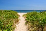 Path to Beach, Old Town Road Beach, Southampton, NY