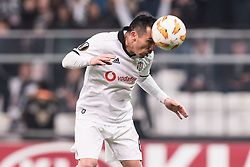 Gary Alexis Medel Soto of Besiktas JK during the UEFA Europa League group I match between between Besiktas AS and Malmo FF at the Besiktas Park on December 13, 2018 in Istanbul, Turkey