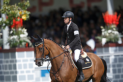 Brash Scott, (GBR), Hello Sanctos <br /> CP International Grand Prix presented by Rolex<br /> Spruce Meadows Masters - Calgary 2015<br /> © Hippo Foto - Dirk Caremans<br /> 13/09/15