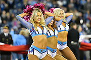 Tennessee Titans Cheerleaders dance for the fans.