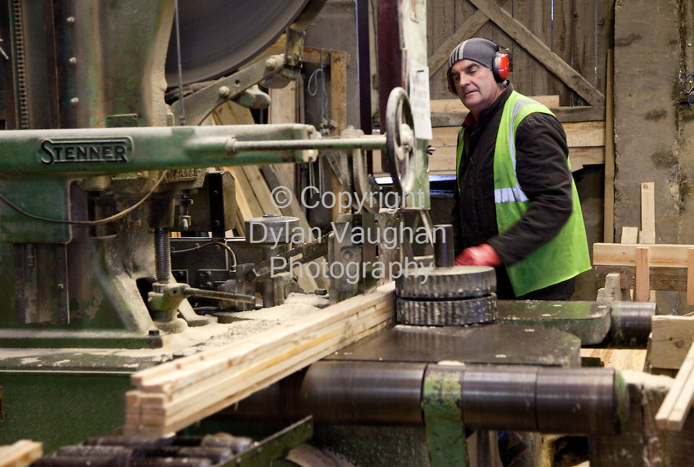 22/1/2009.Workers at CJ Sheeran in Mountrath County Laois..Picture Dylan Vaughan.