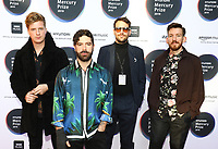 Foals attend the red carpet during the 2019 Hyundai Mercury Prize, Eventim Apollo, London, UK, Saturday 06 July 2019<br /> Photo JM Enternational