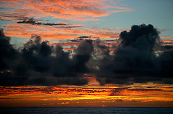 NORTHERN PACIFIC ESPERANZA 9NOV07 - Dramatic colours in the clouds prior to sunrise  seen from aboard the MY Esperanza in the northern Pacific...jre/Photo by Jiri Rezac..© Jiri Rezac 2007..Contact: +44 (0) 7050 110 417.Mobile:  +44 (0) 7801 337 683.Office:  +44 (0) 20 8968 9635..Email:   jiri@jirirezac.com.Web:    www.jirirezac.com..© All images Jiri Rezac 2007 - All rights reserved.