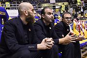 Simone PIANIGIANI<br /> Fiat Auxilium Torino - EA7 Emporio Armani Olimpia Milano <br /> LegaBasket 2017/2018<br /> Torino 10/12/2017<br /> Foto Ciamillo-Castoria