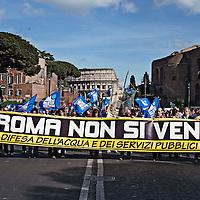 Manifestazione per l'Acqua Pubblica